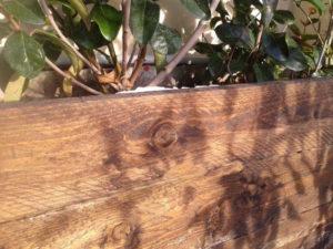 Φτιάχνοντας μια ξύλινη γλάστρα