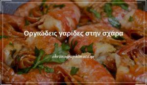 Οργιώδεις γαρίδες στην σχάρα