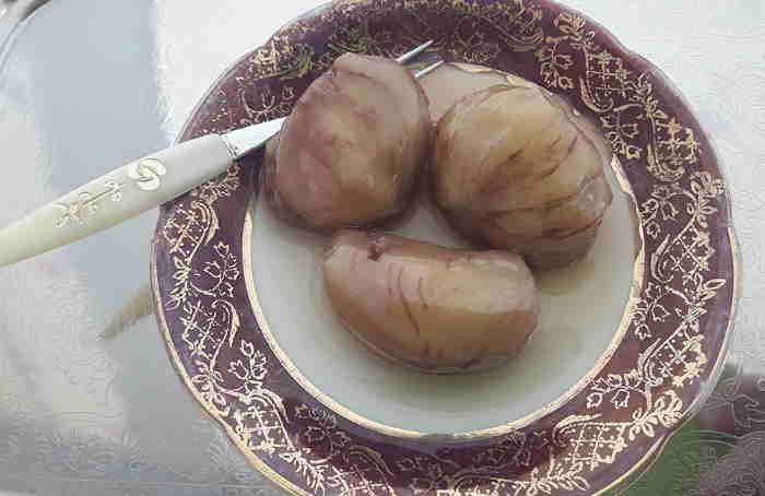 Κάστανο, γλυκό του κουταλιού